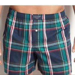 NEW MENS Polo Ralph Lauren Woven Boxer Short